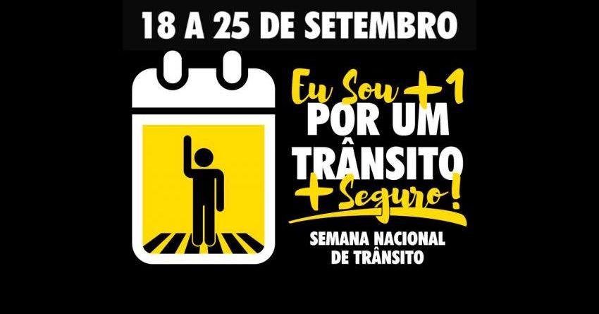 NOTA PÚBLICA: GDF CANCELA SEMANA DE TRÂNSITO NO DF.